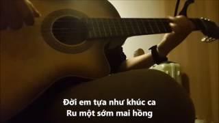 Chiếc lá mùa đông - Guitar solo