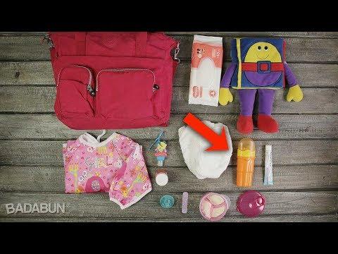 7 Cosas que toda mamá debe llevar en su pañalera