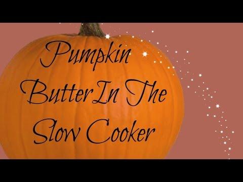 Pumpkin Butter In The Slow Cooker