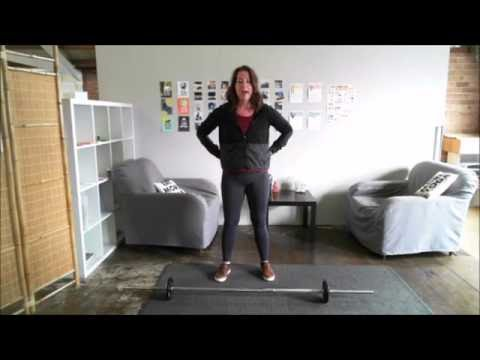 beginners barbell workout for women  youtube