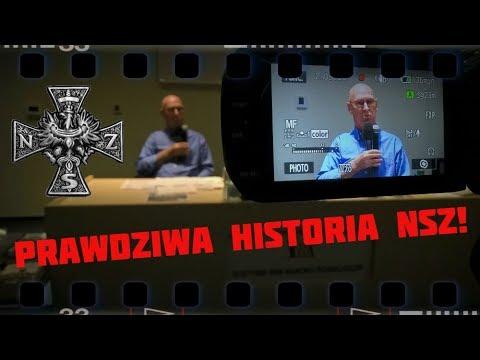 Leszek Żebrowski – odkłamać historię NSZ! Olsztyn, 6 października 2017.