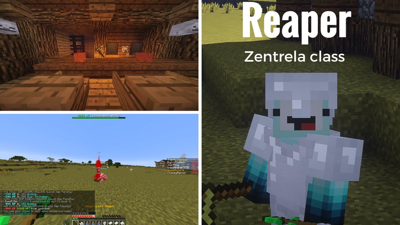 Zentrela : Reaper Class Guide by IceBreakerGamer