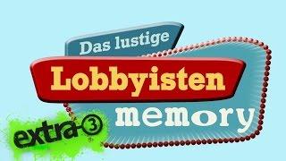Das lustige Lobbyisten-Memory