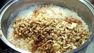 Toasted, Cashew,  Pear White Rice Chef John The Ghetto Gourmet Show Ii