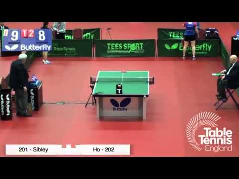English Senior National Championships 2015 Women's Final (Sibley v Ho)