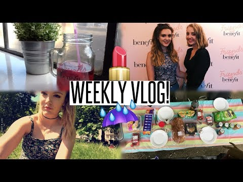 VLOG: Benefit Event with Liv & A Picnic in the Rain
