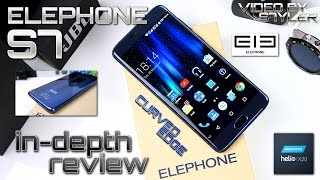 Elephone S7 (In-Depth Review) 4GB/64GB, Fingerprint Scanner, Helio X20, Android 6.0, Curved 2.5D