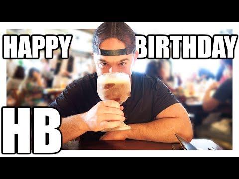 VLOG: HAPPY BIRTHDAY HB