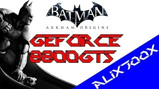 Batman Arkham Origins PC Gameplay - GeForce 8800GTS & AMD Athlon X2 240