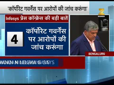 Know what Nandan Nilekani says in his first press conference after comeback in Infosys