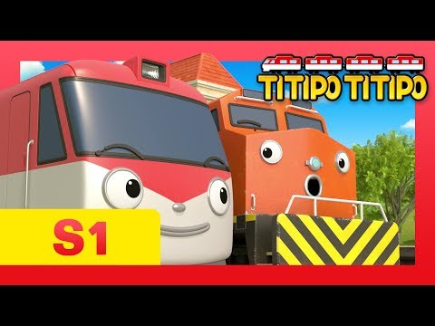 TITIPO S1 EP7 l Manny's secret that no one knows  l Trains for kids l TITIPO TITIPO