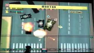 Grand Theft Auto 2 - GTA 2 - PS gameplay - TANK - Level 2, part01
