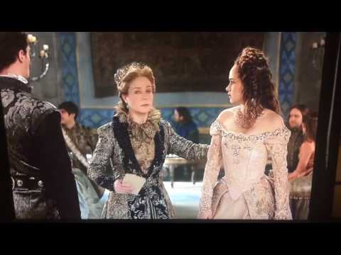 Reign 3x18 Season Finale. Leith saves Claude and Katherine. Claude  and Leith get katherine