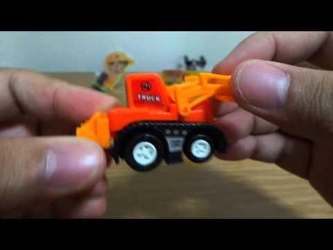 รถก่อสร้างจิ๋ว Mini Construction Cars รถตักดิน รถแม็คโครจิ๋ว