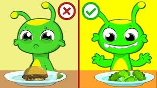Groovy el Marciano dibujos animados | Groovy enseña a los n...