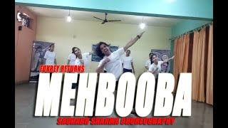 MEHBOOBA DANCE CHOREOGRAPHY I FUKREY RETURNS I THE RIGHT MOVES I BOLLYWOOD DANCE I LEARN EASY STEPS