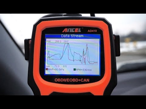 Ancel AD410 OBD2 car scanner review
