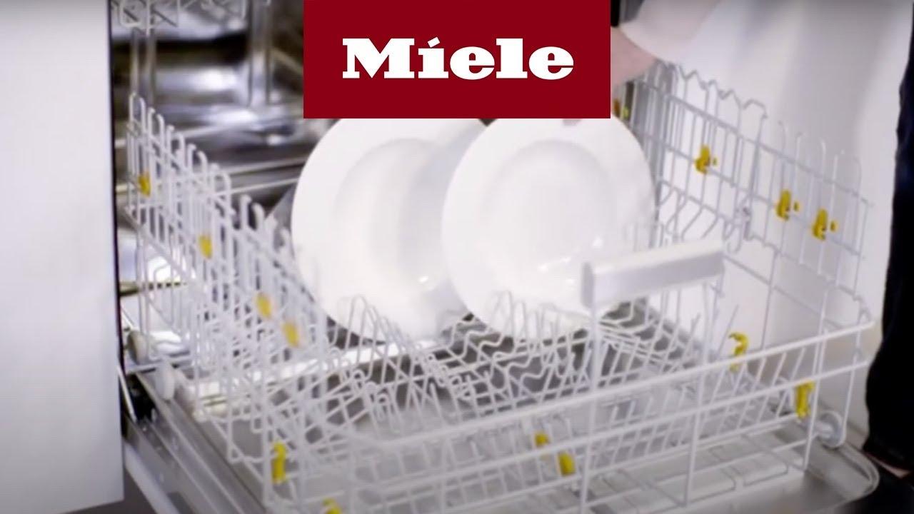 Geschirrspuler einraumen wie ein profi miele youtube for Geschirrspüler besteckschublade