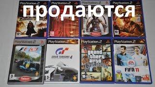 Продаю Диски PS2 / PlayStation2 / Игры PS2 Екатеринбург \ РФ по почте.