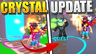 MYTHICAL CRYSTAL REALM UPDATE IN ROBLOX MINING SIMULATOR