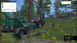 Farming Simulator 2015 Kütükleri Talaşa Çevirmek ?
