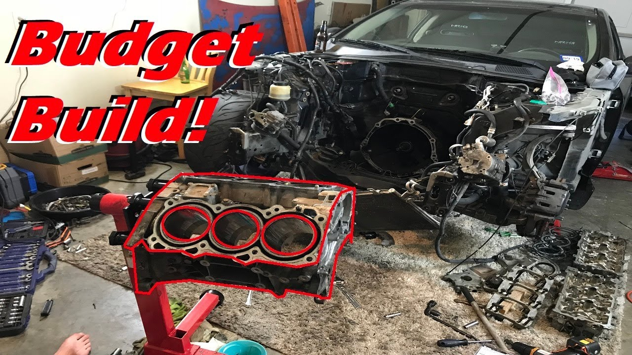 Budget VQ35 Engine Build for an Infiniti G35! - Episode 1