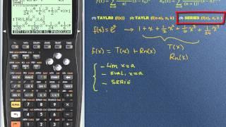 HP 50G: Series de Taylor y Maclaurin, 1 de 2