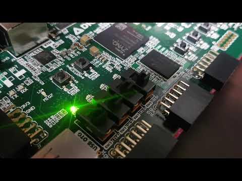 FPGA Xilinx Blink