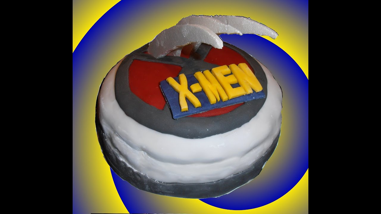 Marvel X-Men Logo / Claw Birthday Cake: How to (Quick and Easy)