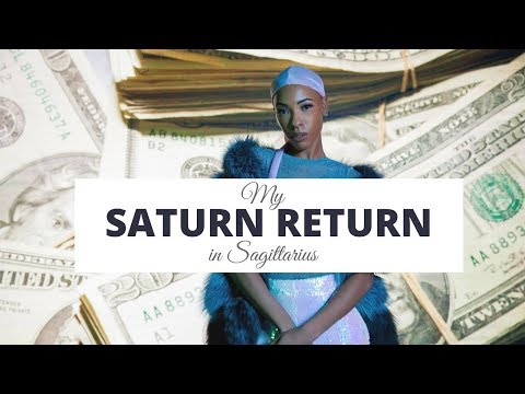 My Saturn Return in Sagittarius... Set your price and live your life