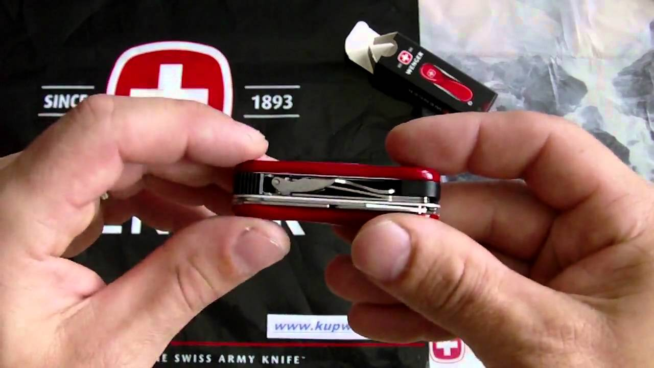 VICTORINOX SWISS ARMY NAIL CLIP 580 COLLECTION