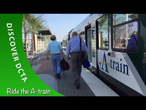 Discover DCTA - Ride the A-train