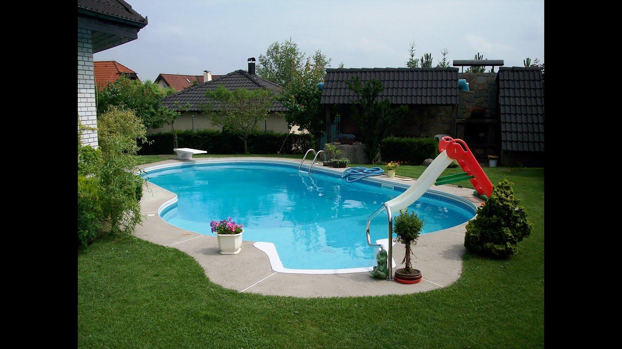 Как сделать бассейн во дворе самостоятельно И ничего сложного в этом нет