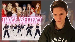 Download DANCER REACTS TO TWICE 「BETTER」 Music Video and Dance Practice Video