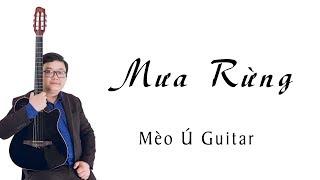 Mưa Rừng Guitar Solo | Mèo Ú Guitar