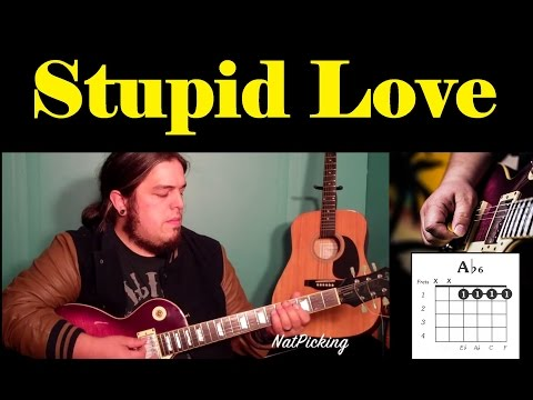 Jason Derulo  - Stupid Love *Guitar Tutorial*