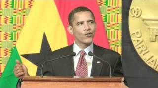 President Obama Speaks in Ghana. - GhanalinxTv