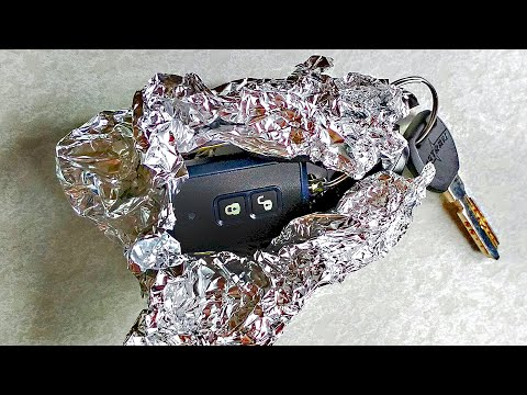 Put Your Car Keys In Foil, And Your Driving Will Become Easier