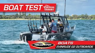 Tested: Yellowfin Boats with Evinrude G2 outboards