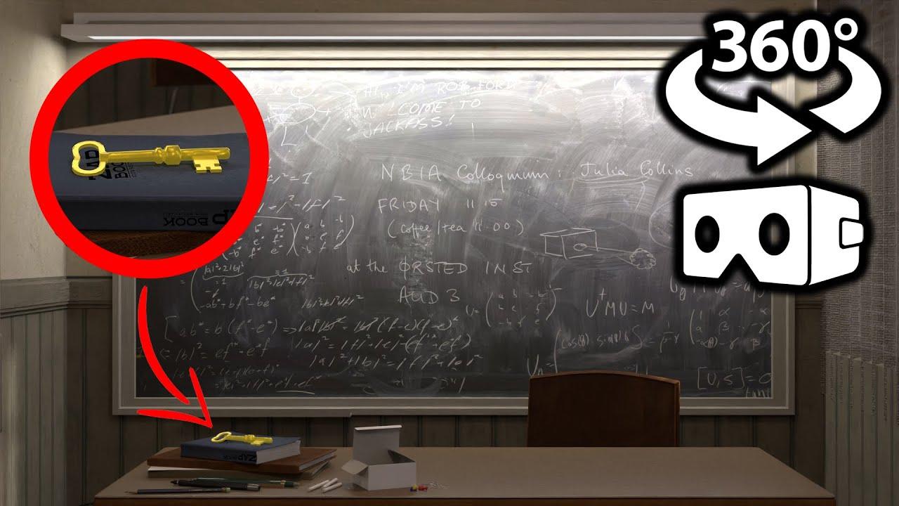 🔑FIND THE KEYS 360/VR Video - SCHOOL