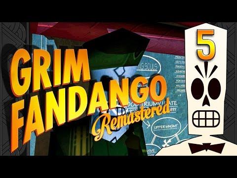 Grim Fandango #5 Viva la revolution Adventure Classic BLIND HD Remake