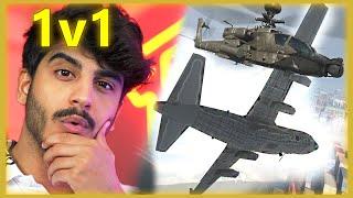 طيارة ضد هيليكوبتر ?❗️ Gunship Vs Chopper Gunner