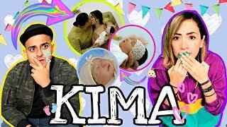 REACCIONANDO A AMÁNDOTE DE KIM LOAIZA Y JUAN DE DIOS PANTOJA *canción para KIMA* / #AmorEterno