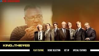 King of Thieves (2018) Blu-ray™ Disc Main Menu   Menu Walkthrough