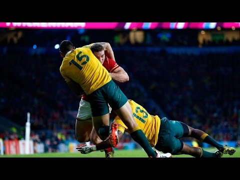 Australia V Wales - Match Highlights - Rugby World Cup