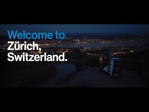 Welcome to Zürich, Switzerland.