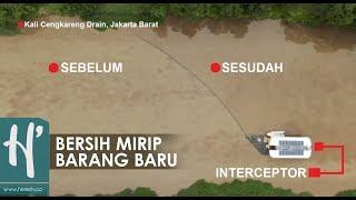 Robot dari Belanda Bersihkan Sungai Kotor di Jakarta, Lihat Hasilnya!