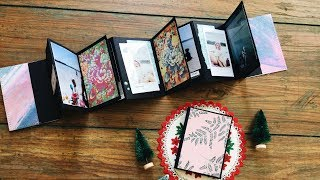 Last Minute DIY Christmas Gifts | DAY 6/12 | Accordion Album