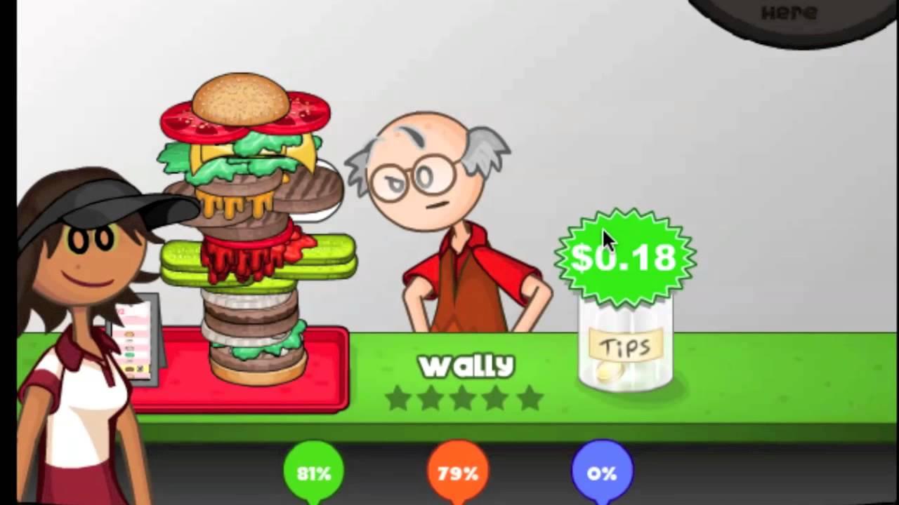 papa louie burgeria 2