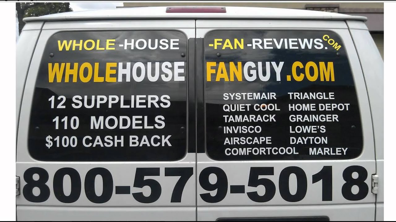 Whole House Fan Ramsey